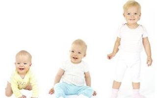 12 месяцев ребенку: правильное развитие малыша вес и рост